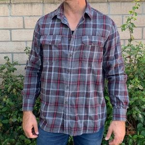 Faded Glory Long Sleeve Button Down